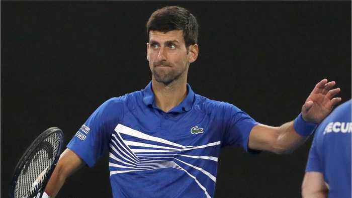 Novak Djokovic's Attempt At An Australian Accent Left His Fan In Stitches
