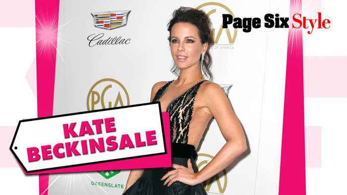 Kate Beckinsale took the 'plunge' in this $11K look