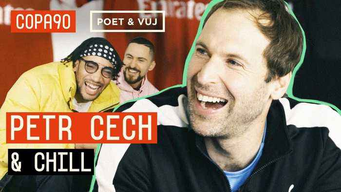 Penalties, Playing With His Feet And Pumping Iron |  Cech & Chill ft. Poet and Vuj