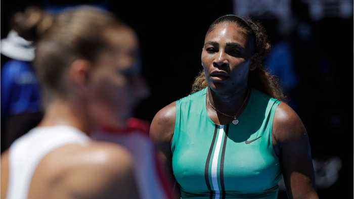 Serena Williams Blows Huge Lead At Australian Open