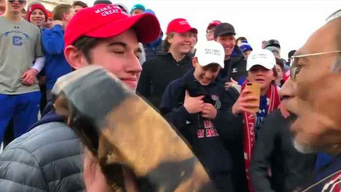 Trump Sides With MAGA Teens Over Viral Video