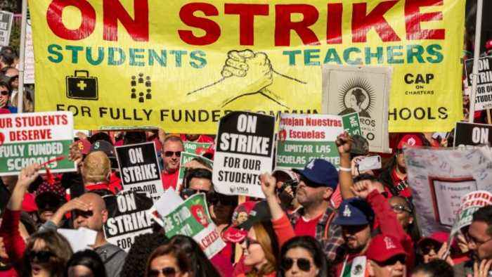 Los Angeles Teachers Strike Is Officially Over