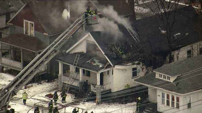 Fire Injures Two In West Pullman Neighborhood
