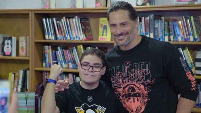 Joe Manganiello Teaches Kids to Play Dungeons & Dragons -- Watch! (Exclusive)
