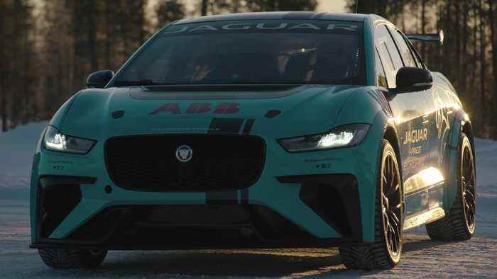 Jaguar I-PACE eTROPHY at the Arctic Circle Challenge