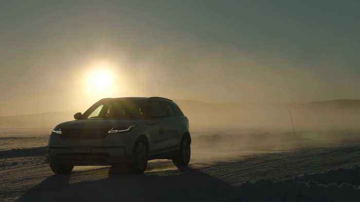 Range Rover Velar at the Arctic Circle Challenge