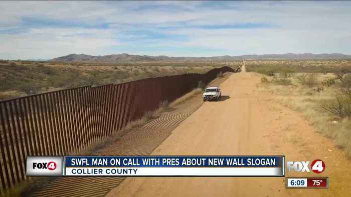 Collier County man takes part in conference call with President Trump on border wall