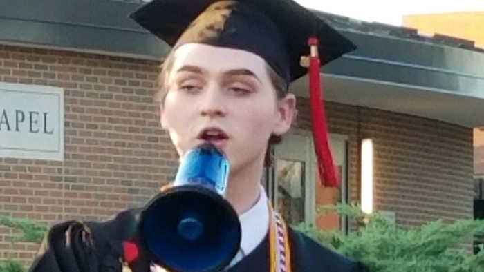 Openly Gay Covington Valedictorian Says D.C. Controversy Was 'Not Surprising'