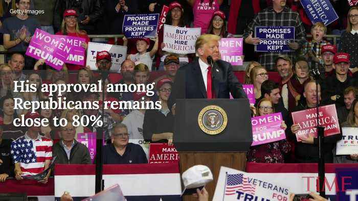 Shutdown Drags President Trump's Approval Rating Down to 34%: Poll