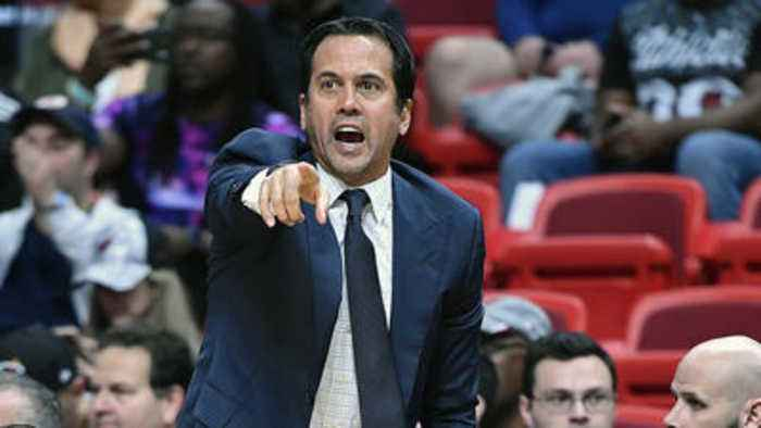 Spoelstra answers questions after loss to Clippers