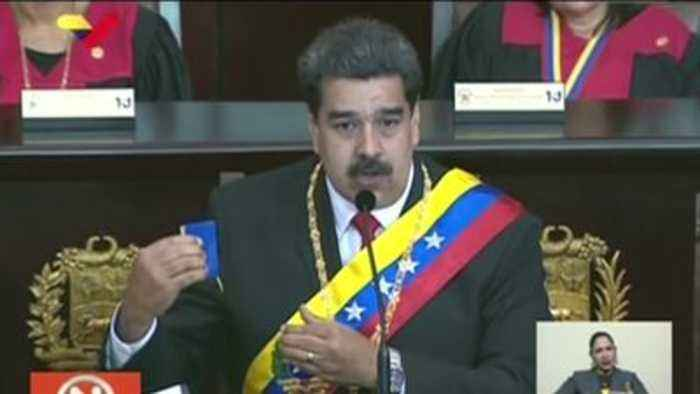 President Maduro: US an 'imperial threat'