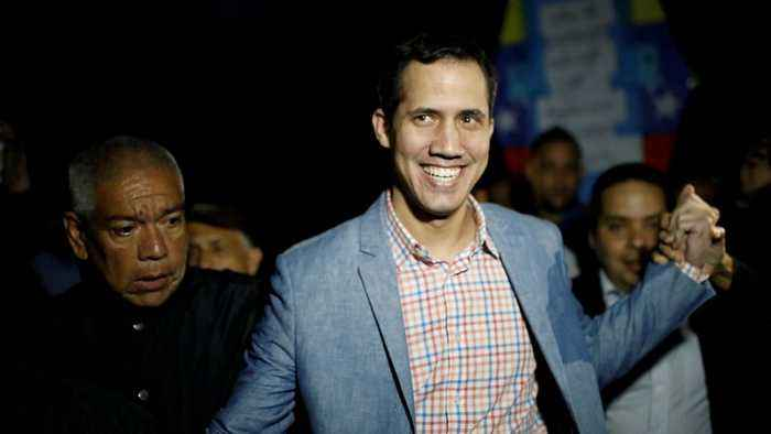 Russia Criticizes The US For Recognizing Venezuelan Opposition Leader Juan Guaido
