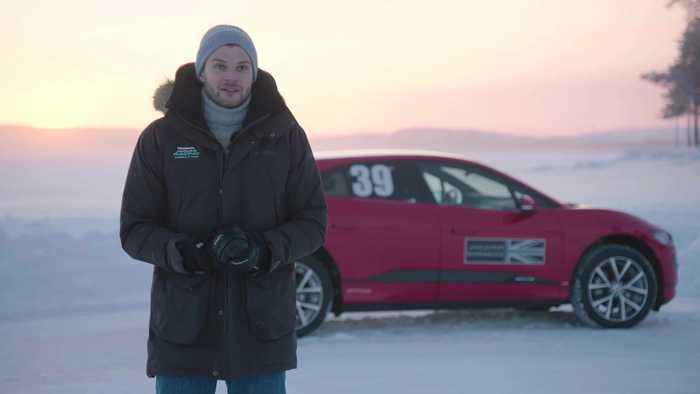 Jaguar Land Rover at the Arctic Circle Challenge - Jim Chapman, Vlogger