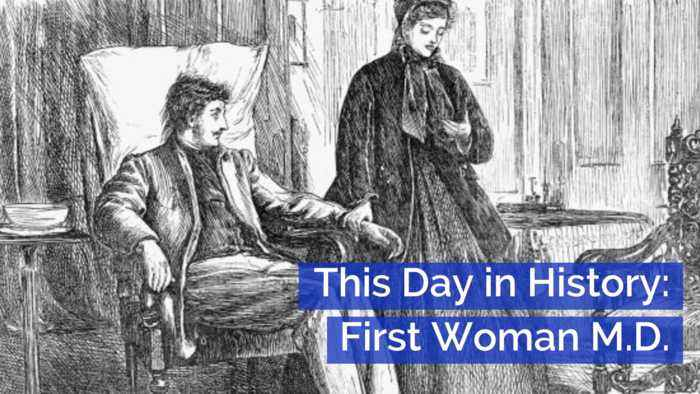 The First Woman Doctor: This Day In History