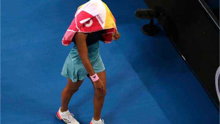 Naomi Osaka Covered Her Face After Winning Her Second Grand Slam