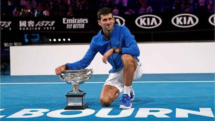Australian Open Champion Novak Djokovic Now Has 15 Grand Slams
