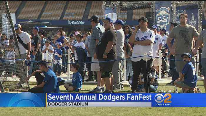 dodgers Hold Seventh Annual Fan Fest