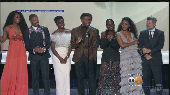 'Black Panther' Wins Big At 25th Annual Screen Actors Guild Awards