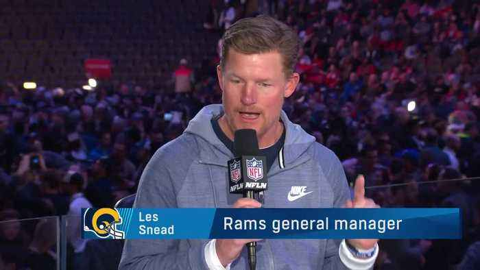 Los Angeles Rams general manager Les Snead talks about how he built the 2018 Los Angeles Rams