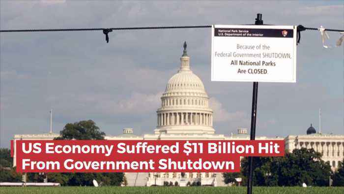 What Did The Government Shutdown Cost The U.S. Economy