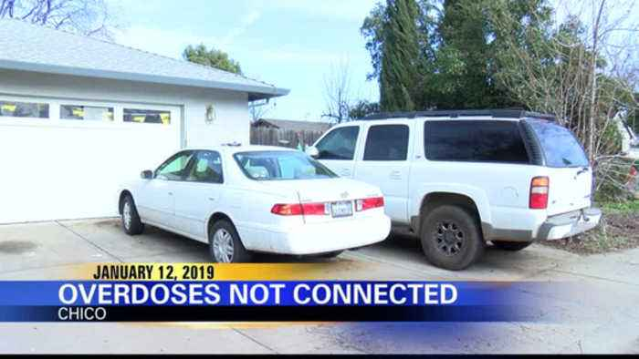Chico Police: Butte County Overdoses Not Related