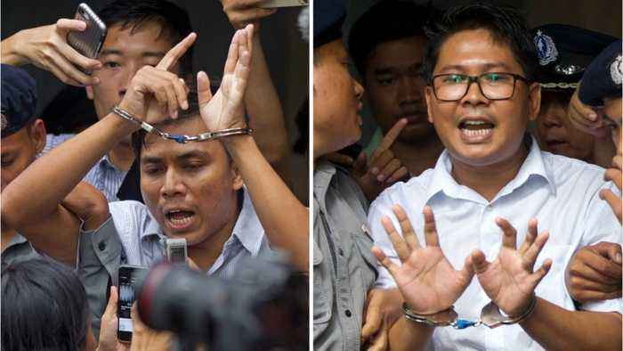 Myanmar Court Rejects Appeal By Jailed Journalists