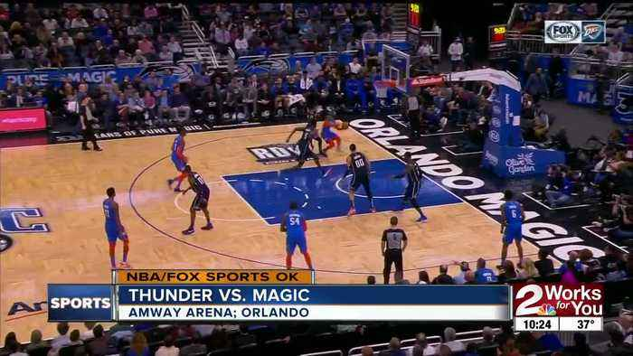 Paul George, Dennis Schroder lead short-handed Thunder to win at Orlando, extend winning streak to 6 games