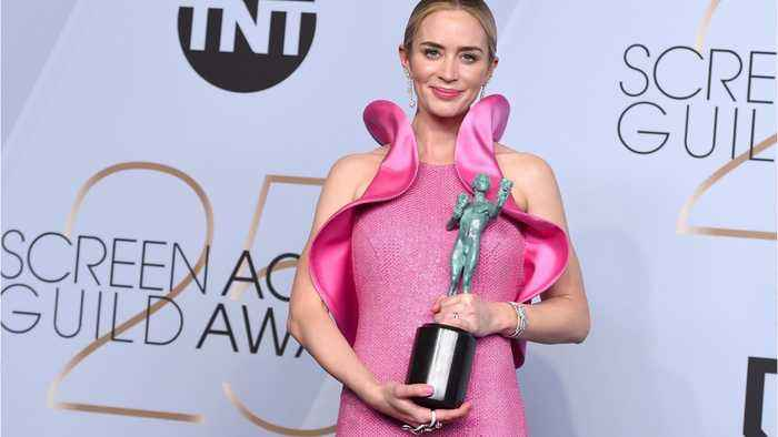 Emily Blunt Wins SAG Award for Outstanding Supporting Actress