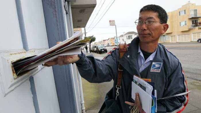 Weather Forces Postal Service to Suspend Some Mail Delivery