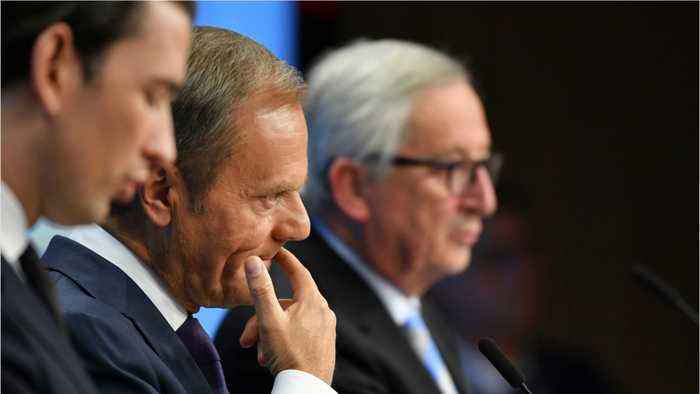 EU's Tusk Says Withdrawal Agreement Is Final
