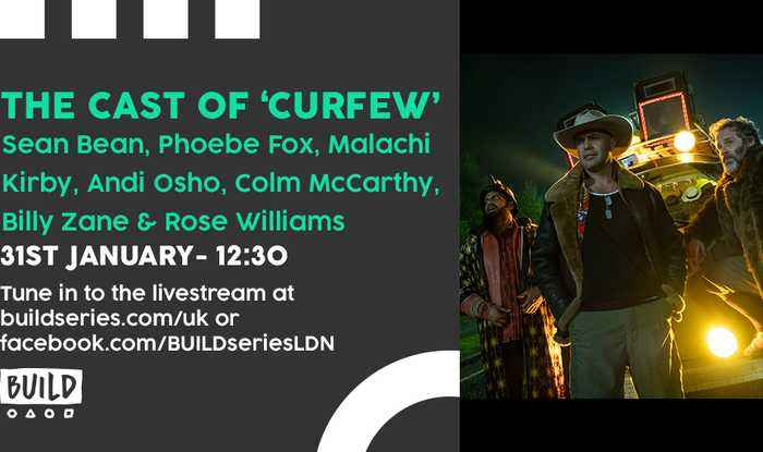Live From London - The cast of 'Curfew'