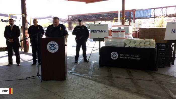US Border Authorities Announce Largest Fentanyl Seizure In History