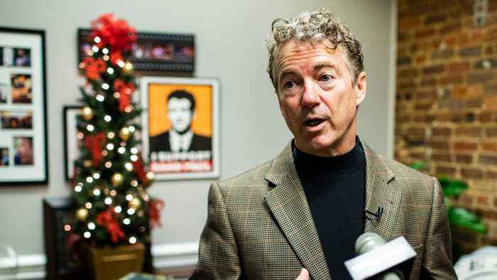 Senator Rand Paul Awarded $580,000 After Neighbor Breaks His Ribs