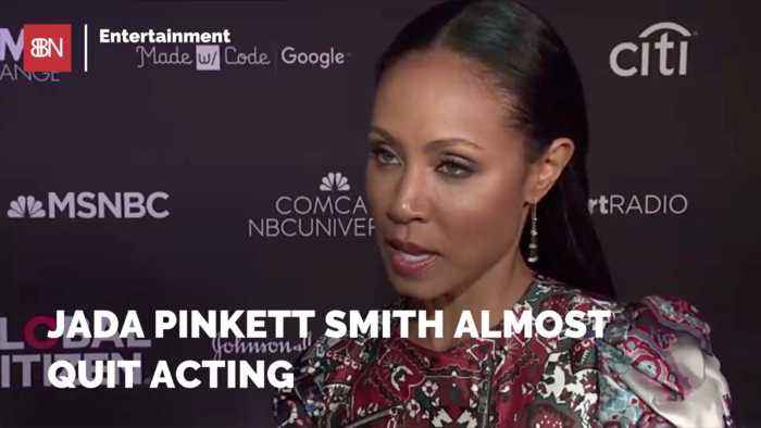 Jada Pinkett Smith Almost Changed Careers