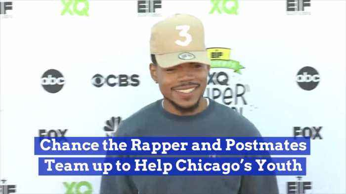 Chance The Rapper And Postmates Help Chicago Kids