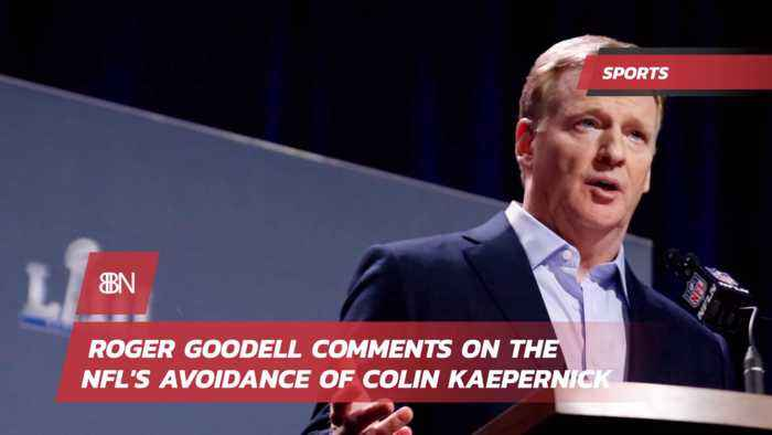 Roger Goodell Makes Statement About Colin Kaepernick