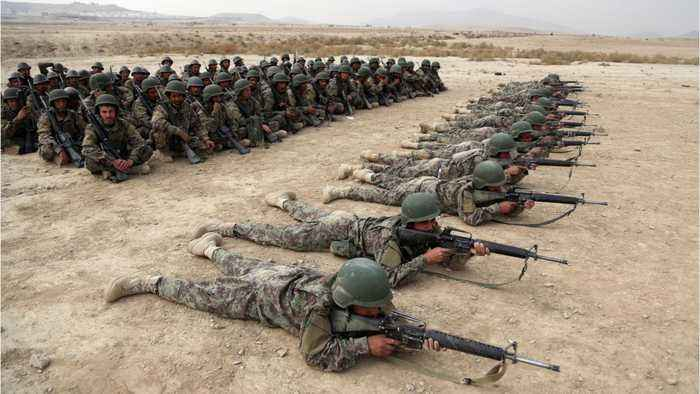 The Fate Of Afghanistan In The Hands Of These Soldiers