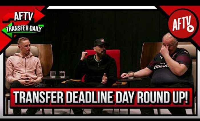 Transfer Deadline Day Round-Up! I Supporters Club ft Turkish, Claude & Lee Gunner