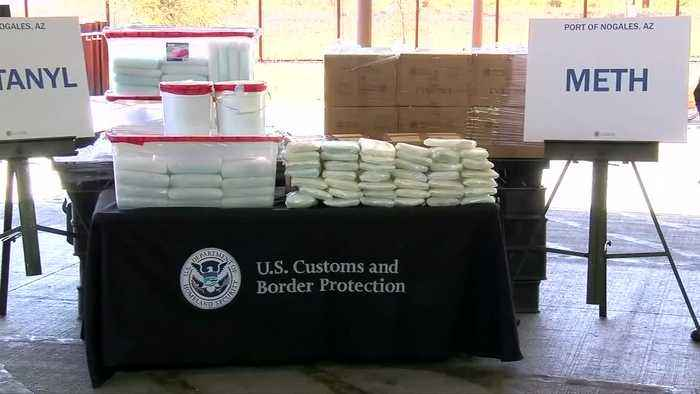 Largest-ever fentanyl bust made at U.S. border