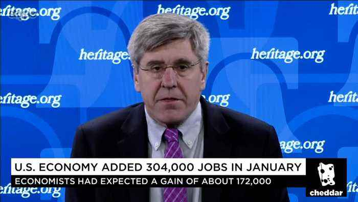 Blockbuster Jobs Report Shows Tax Cuts Are Working: Stephen Moore