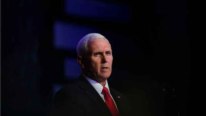 Pence Says Time For Dialogue Is Over With Maduro's Government