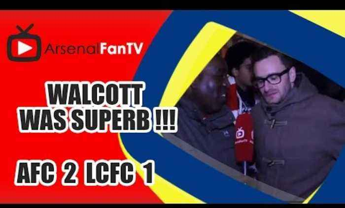 Walcott Was Superb !!! - Arsenal 2 Leicester City 1