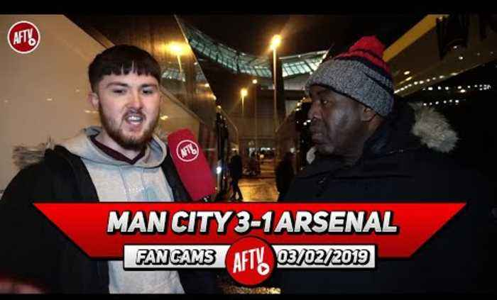 Man City 3-1 Arsenal   We Just Crumble In These Big Away Games!!