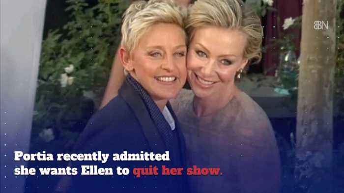 Ellen Is Very Happy With Her Wife Portia DeRossi