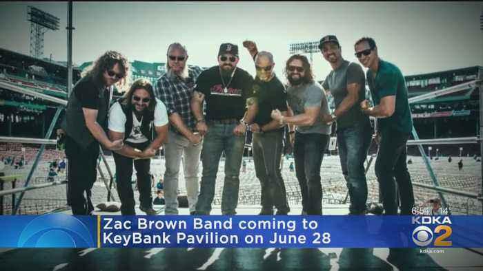 Zac Brown Band's Summer Tour To Stop At KeyBank Pavilion