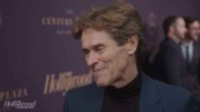 Willem Dafoe Talks His First Best Actor Nomination For 'At Eternity's Gate' | Oscar Nominees Night 2019