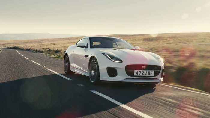 Jaguar F-TYPE Chequered Flag Reveal