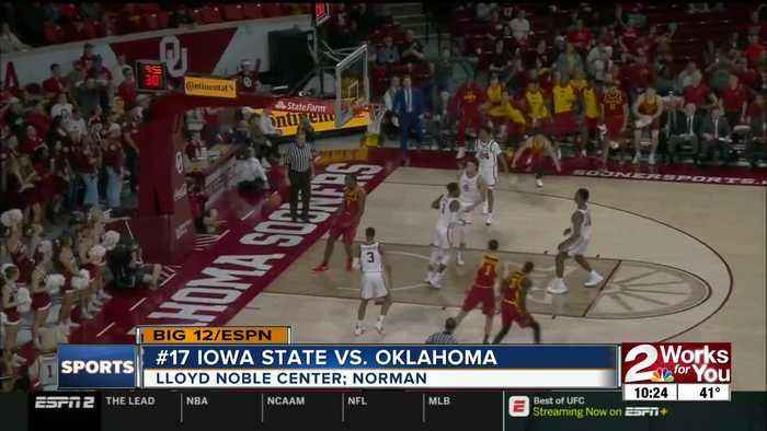 Oklahoma falls to #17 Iowa State, 75-74