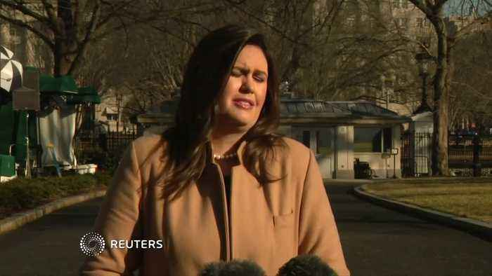 """Inaugural probe """"nothing to do with WH"""": Sanders"""