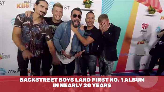 The Backstreet Boys Hit Number 1 Again After 20 Years